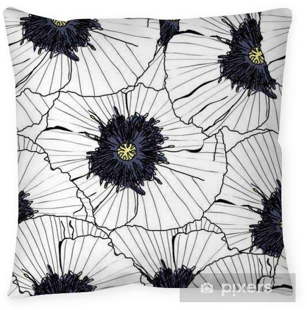 Kussensloop Patroon bloemen naadloze, EPS-10 - Grafische Bronnen