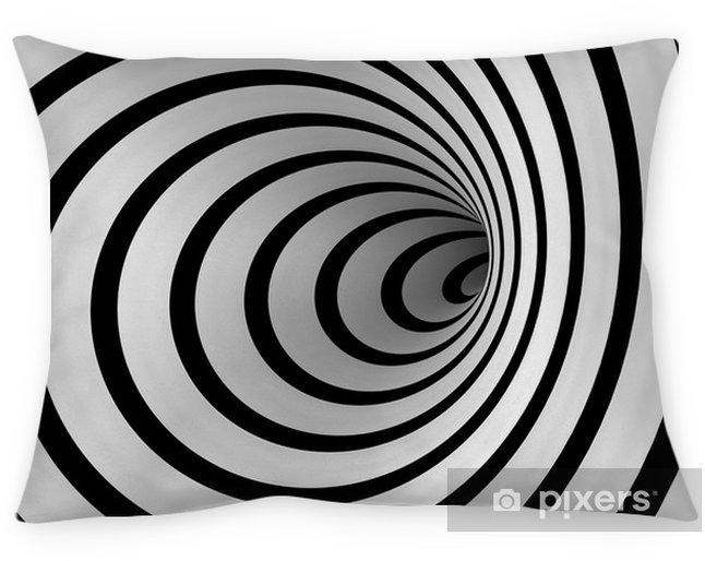 Kussensloop Warped spiraal - Illusie
