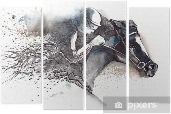 Kwadryptyk Wyścigi konne - Sporty indywidualne