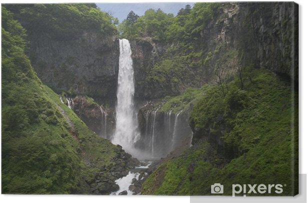 Leinwandbild 華 厳 の 滝 - Naturwunder