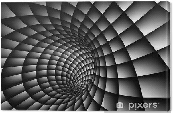 Leinwandbild 3D Zusammenfassung Spiral - Themen