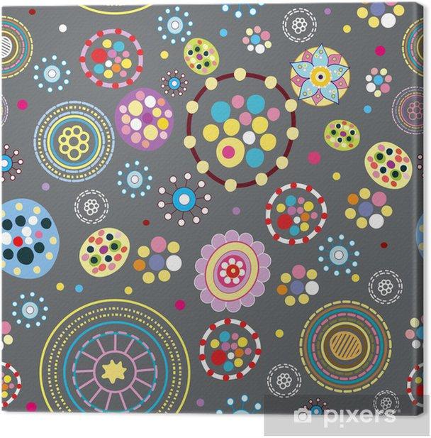 Leinwandbild Abstract seamless pattern. Vektor-Illustration. - Hintergründe