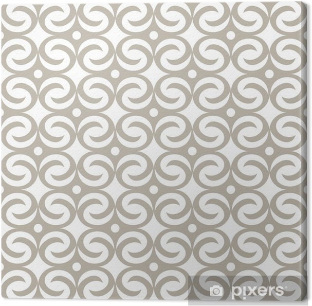 Leinwandbild Abstract seamless pattern - Hintergründe