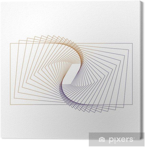 Leinwandbild Abstrakte Geometrie - Vorlagen