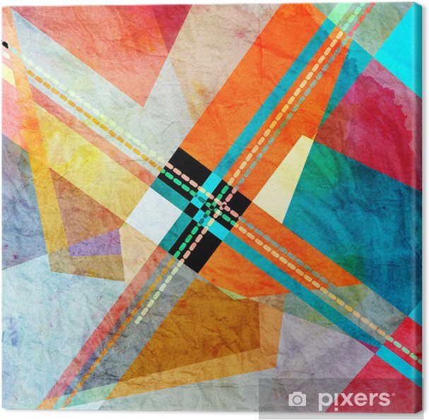 Leinwandbild Abstrakter hintergrund - Hintergründe