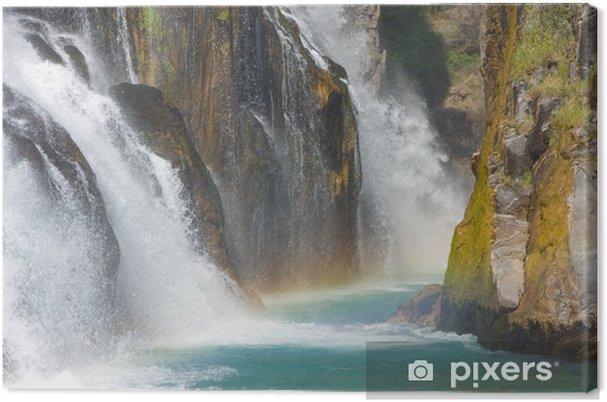 Leinwandbild Alara Ucansu Şelalesi, Wasserfall, der Türkei - Naturwunder