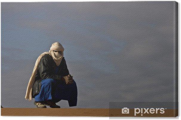 Leinwandbild Algerien, Wandern in den roten Tadrart - Urlaub