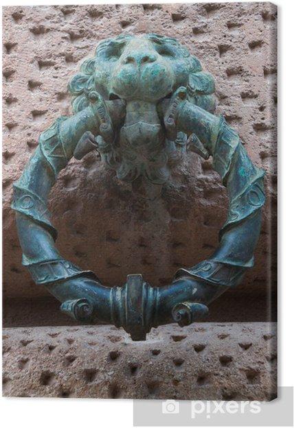 Leinwandbild Alhambra von Granada Ringe - Denkmäler