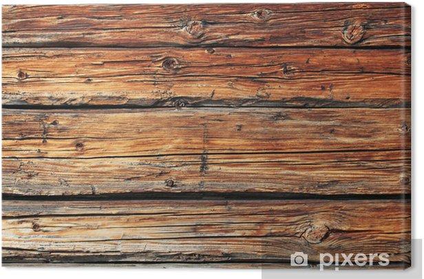 Leinwandbild Altes Holz - Themen