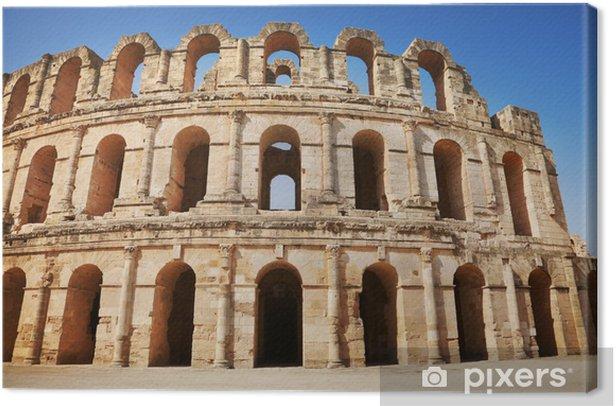 Leinwandbild Amphitheater - Afrika