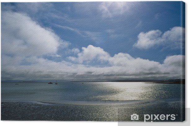 Leinwandbild Aran Insel Inishmore, Kilronan, - Wasser