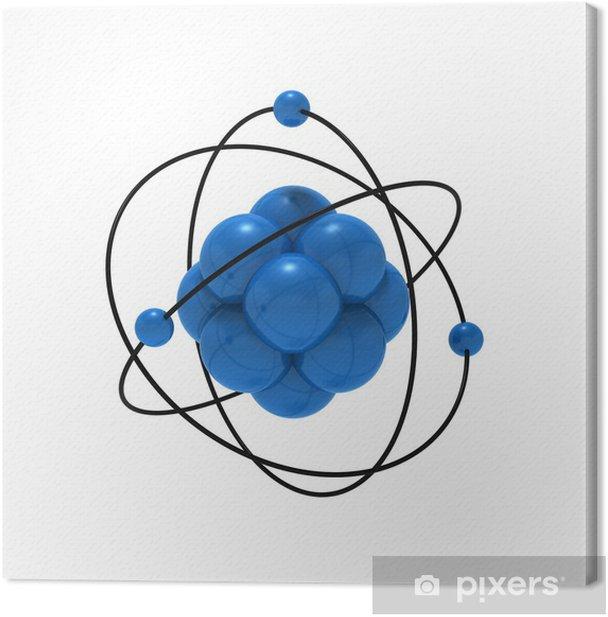 Leinwandbild Atome - Naturwissenschaften