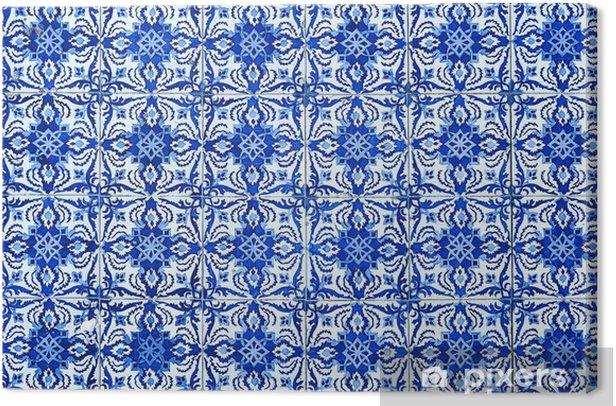 Leinwandbild Azulejos, traditionelle portugiesische Fliesen - Themen