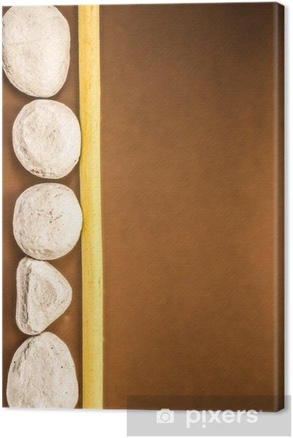 Leinwandbild Bambu - Texturen