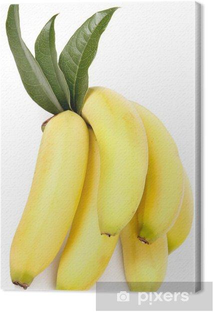Leinwandbild Banane - Früchte