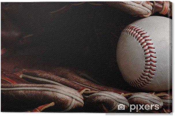 Leinwandbild Baseball - Teamsport