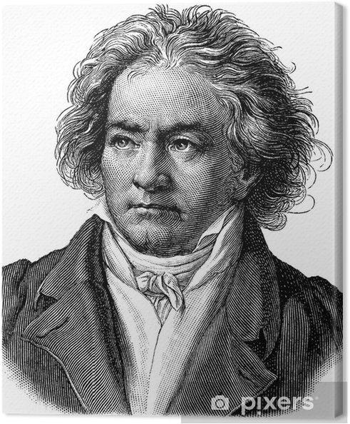 Leinwandbild Beethoven - Männer