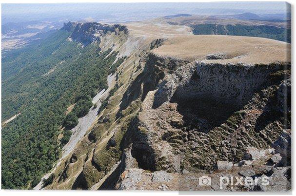 Leinwandbild Beriain, Berge von San Donato (Navarra) - Europa