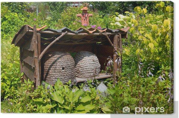 Leinwandbild Bienenkörbe - Andere Andere