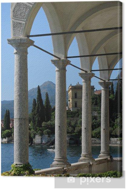 Leinwandbild Blick auf den Comer See von der Villa Monastero. Italien - Themen