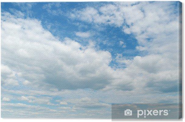 Leinwandbild Blue sky - Himmel