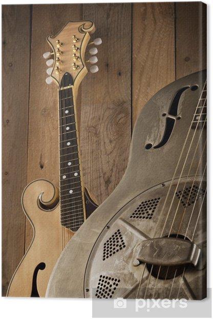 Leinwandbild Bluegrass-Musik - Themen