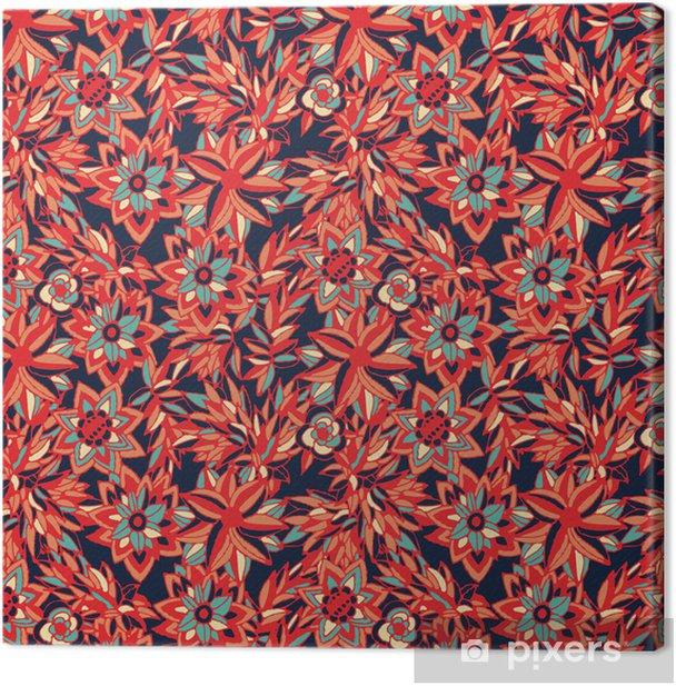 Leinwandbild Blumen - Texturen