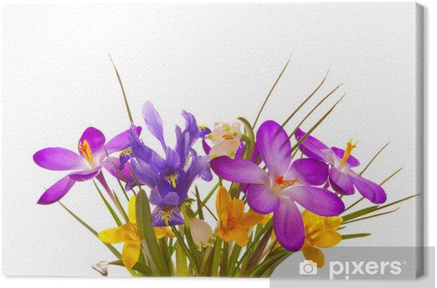 Leinwandbild Blumenstrauss - Feste