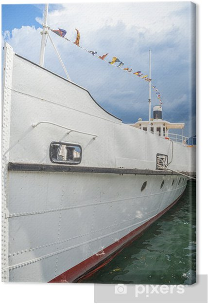 Leinwandbild Boot auf dem See - Boote