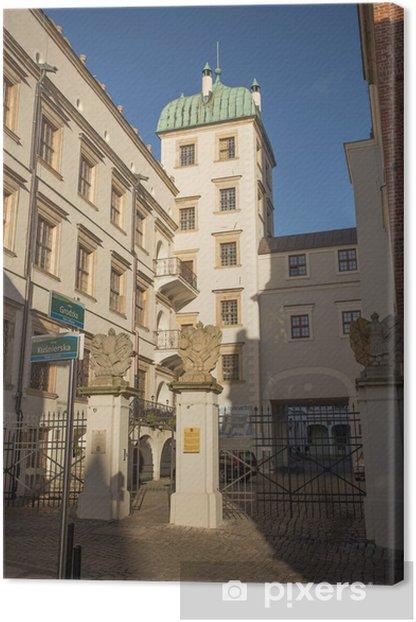 Leinwandbild Borsten Schloss - Themen