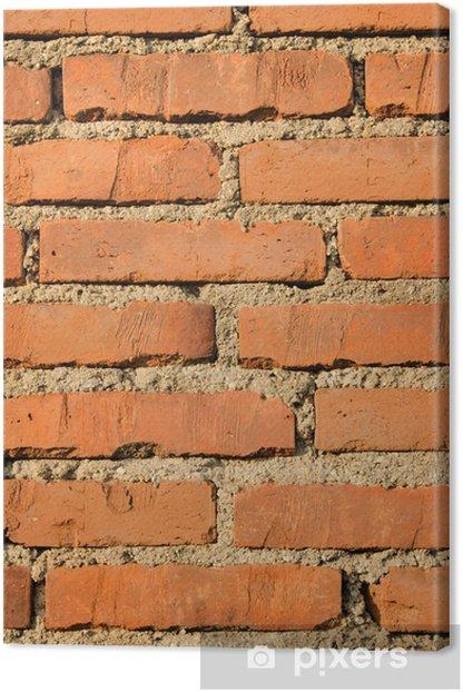 Leinwandbild Bricks. Textur - Schwerindustrie