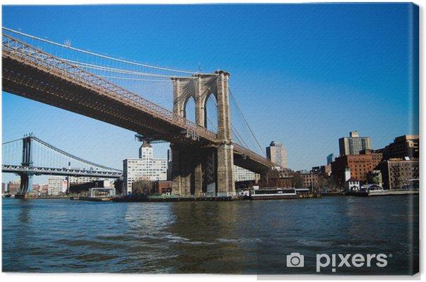 Leinwandbild Brooklyn bridge - Brooklyn Bridge