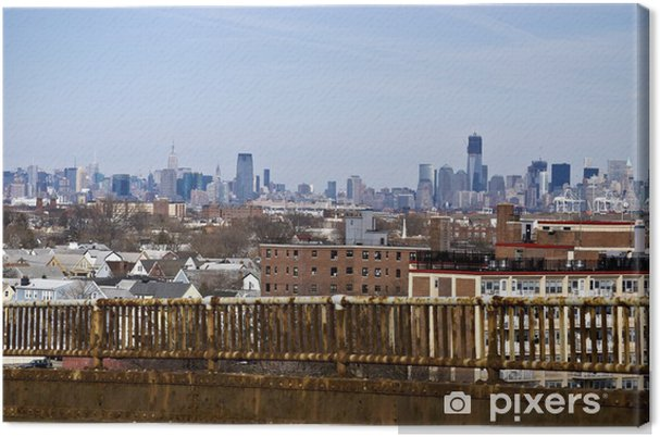 Leinwandbild Brücke Corrosion - Amerika