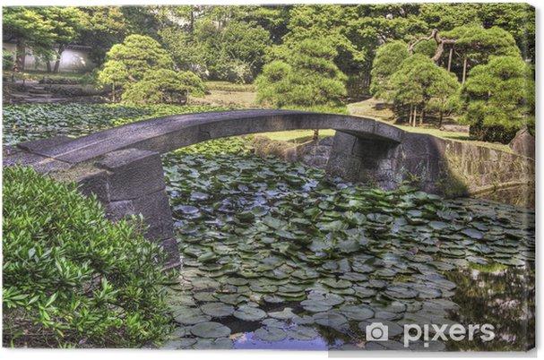 Leinwandbild Brücke - Asien