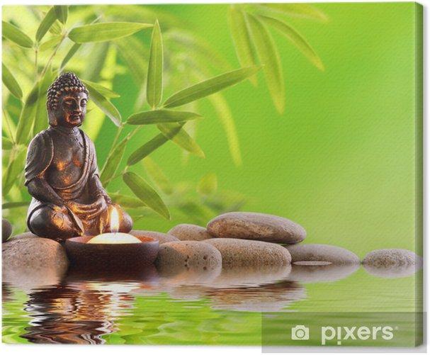 Leinwandbild Buddha zen - Stile