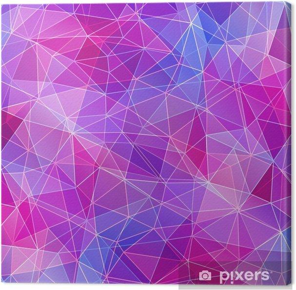 Leinwandbild Bunte Diamant Textur, abstrakten Hintergrund. - Grafische Elemente