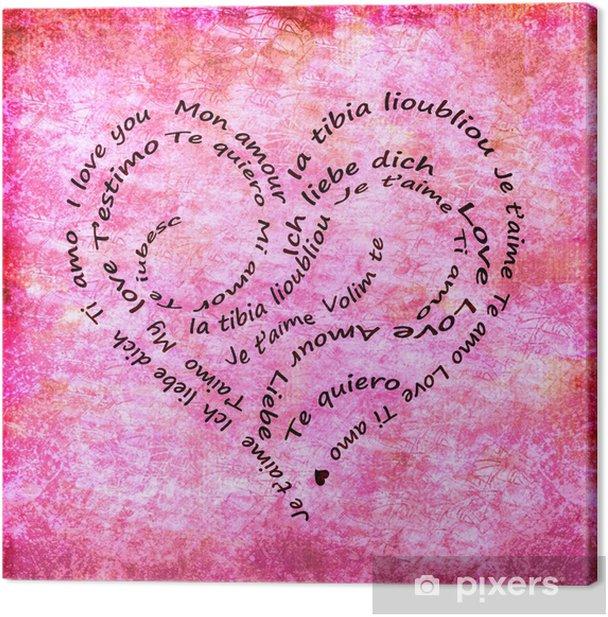 Worte für liebe