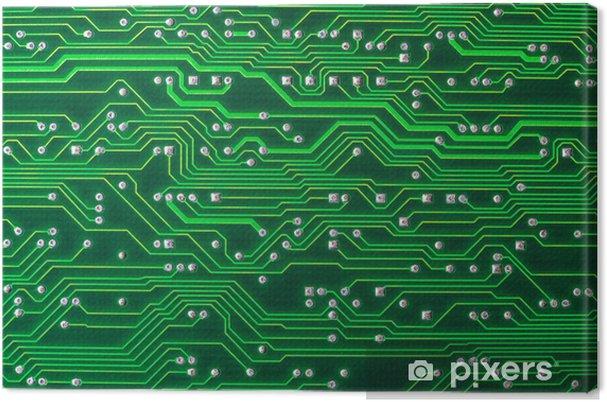 Leinwandbild Circuit board - Bereich