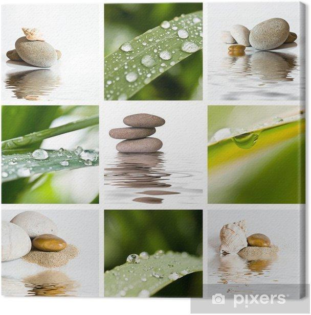 Leinwandbild Composition zen - Hintergründe