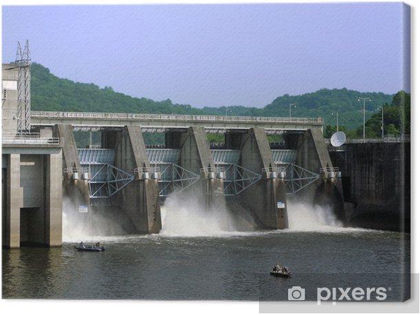 Leinwandbild Cordell Hull Dam - Amerika