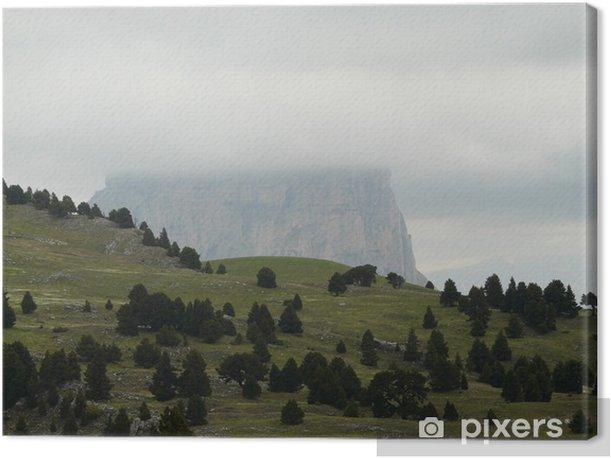Leinwandbild Dans le Vercors, La Tour du Mordor - Berge
