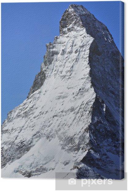 Leinwandbild Das Matterhorn - Europa