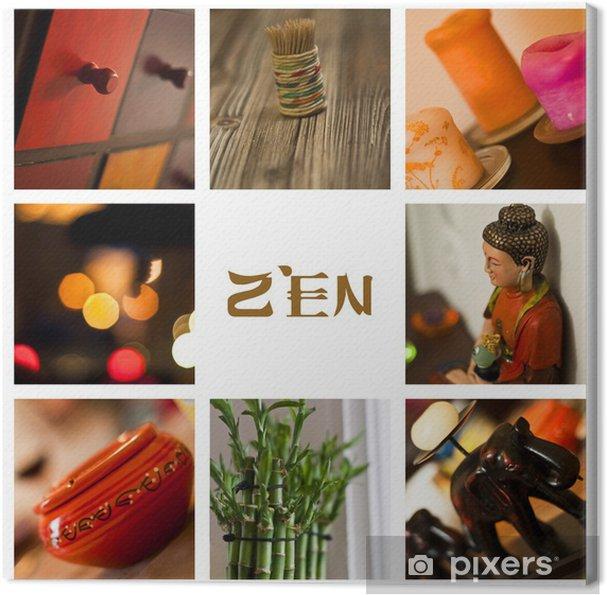 Leinwandbild Dekoration zen 2013 - Hintergründe