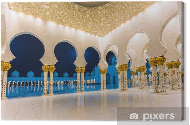 Leinwandbild Der Scheich-Zayed-Moschee - Private Gebäude
