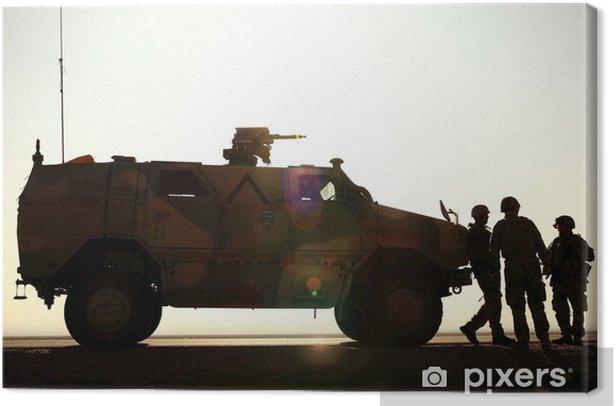 Leinwandbild Deutsch-Armee in Afghanistan - Berufe