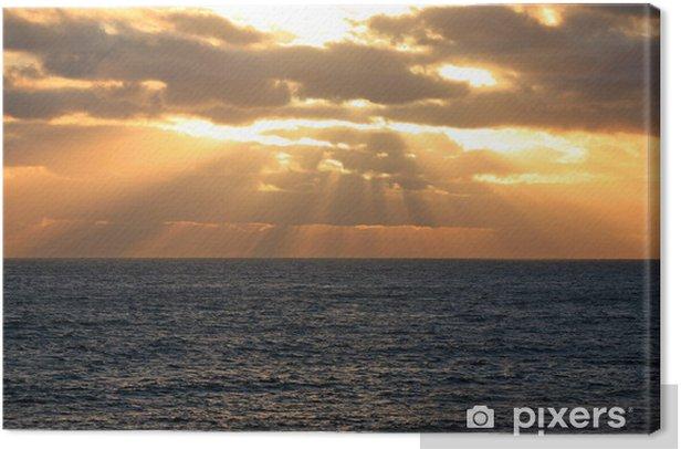 Leinwandbild Die Sonne geht über dem Meer Unter Australien_07_1181 - Zeit
