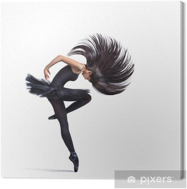 Leinwandbild Die Tänzerin - Wandtattoo