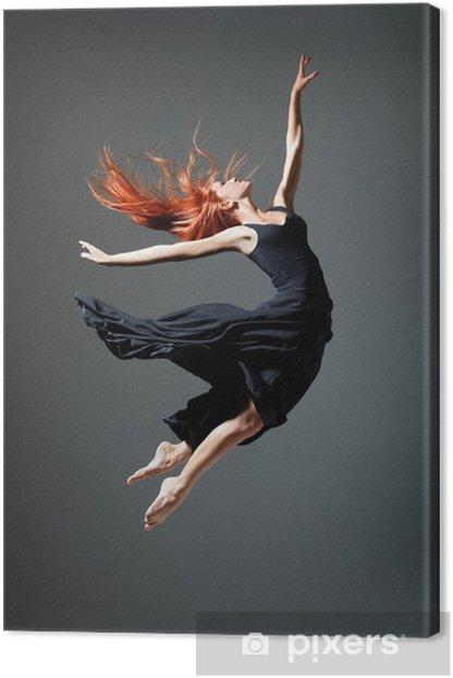 Leinwandbild Die Tänzerin -