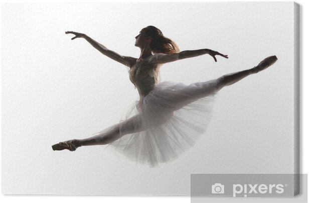 Leinwandbild Die Tänzerin - Ballett