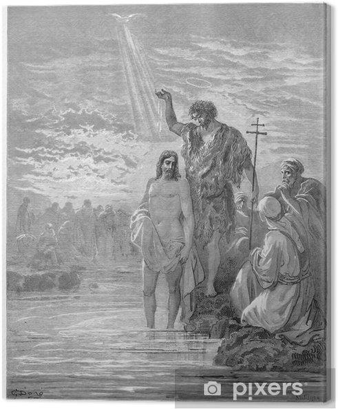 Leinwandbild Die Taufe Jesu